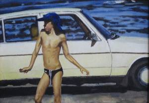 Boy Oil On Canvas 2002