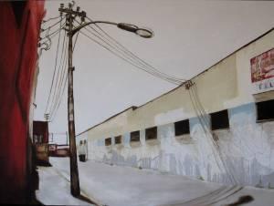 Drury Lane Acrylic On Canvas 120 X 90cm2009