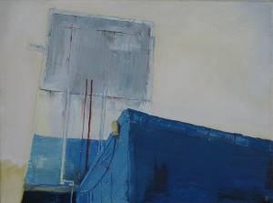 Harbour Blues Oil On Canvas 30 X 40 Cm 2005 R1250