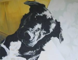 Occy Acrylic On Canvas 70 X 90cm 2003 R5000